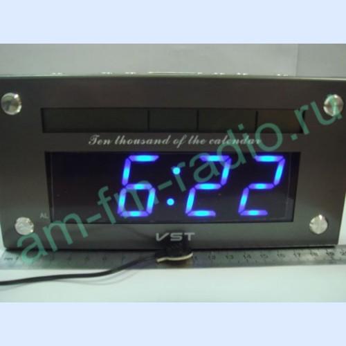 Часы VST-734-5(blue, talking,