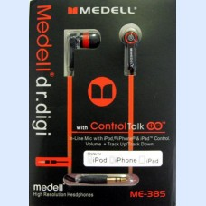 Medell ME-385 black плоск.шн.